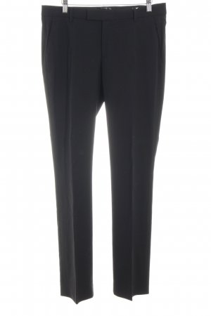 Filippa K Bundfaltenhose schwarz Business-Look