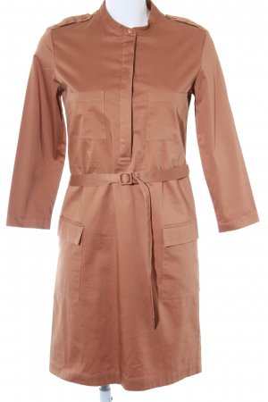 Filippa K Cargokleid camel Business-Look