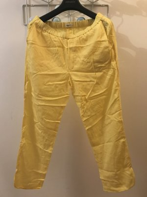 Filippa K gelbe Hose aus Tencel