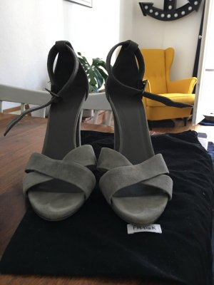 FILIPPA K High Heels Leder / grau