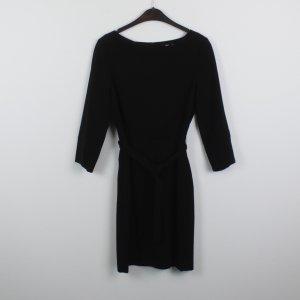 Filippa K Midi-jurk zwart Gemengd weefsel