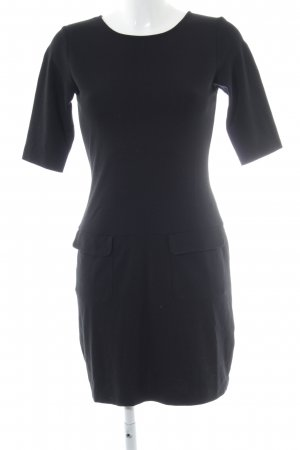 Filippa K Kurzarmkleid schwarz Casual-Look