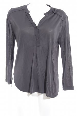 Filippa K Langarm-Bluse anthrazit Casual-Look