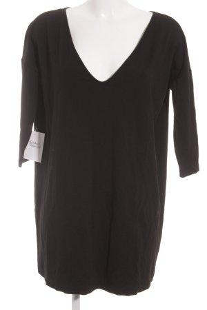 Filippa K Langarmkleid schwarz minimalistischer Stil