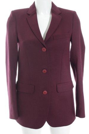 Filippa K Long-Blazer braunviolett meliert Elegant
