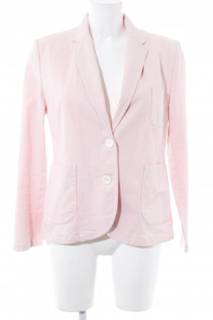 Filippa K Lange blazer roze-wit krijtstreep casual uitstraling