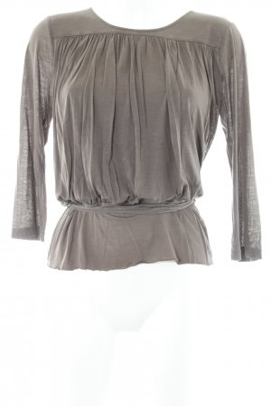Filippa K Longesleeve khaki casual uitstraling