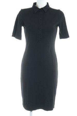 Filippa K Midi-jurk zwart casual uitstraling