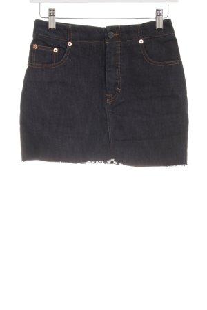 Filippa K Midi-rok donkerblauw casual uitstraling