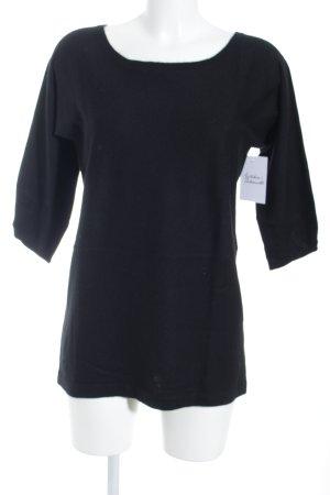 Filippa K Rundhalspullover schwarz minimalistischer Stil