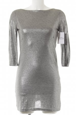 Filippa K Shirtkleid silberfarben Elegant
