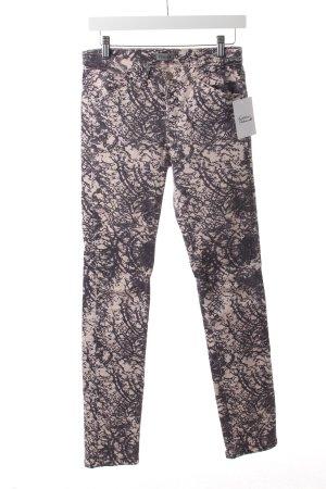 Filippa K Slim Jeans hellrosa-blauviolett meliert
