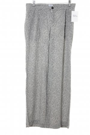 Filippa K Jersey Pants black-natural white abstract pattern casual look