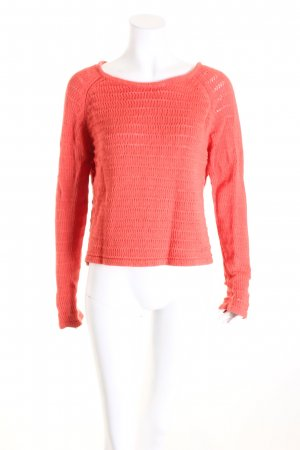 Filippa K Strickpullover dunkelorange Casual-Look