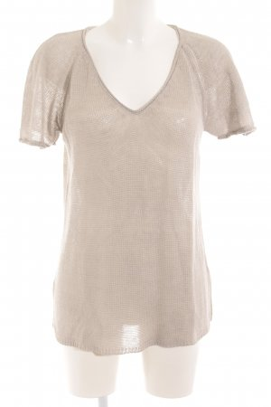 Filippa K Strickshirt hellgrau Casual-Look
