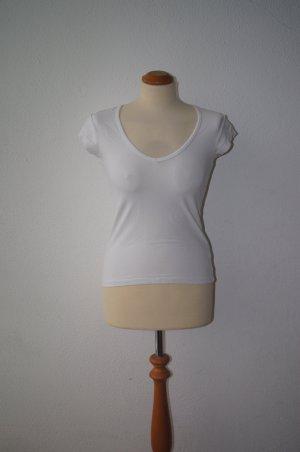 Filippa K T-Shirt basic weiß eng XS/S