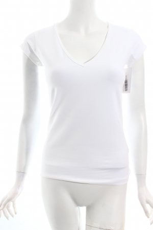 Filippa K T-Shirt weiß Nude-Look
