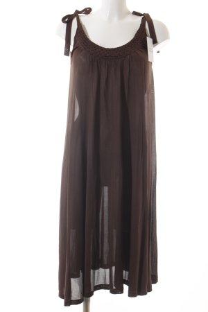 Filippa K Trägerkleid dunkelbraun klassischer Stil