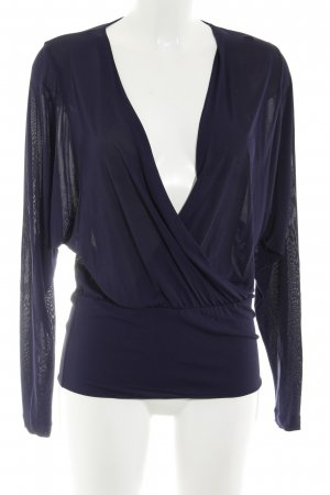 Filippa K Top collo ad anello viola scuro stile professionale