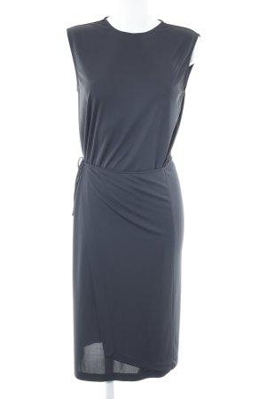 Filippa K Vestido cruzado gris antracita estilo «business»