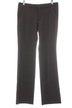 Filippa K Wollen broek donkergroen simpele stijl
