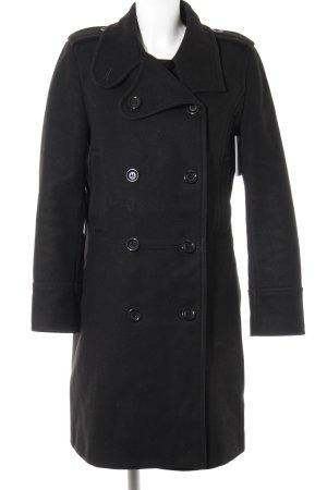 Filippa K Wollen jas zwart elegant
