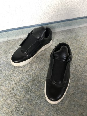 Filling Pieces Slip-on Sneakers black-white