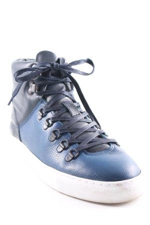 Filling Pieces High Top Sneaker blau-dunkelblau Casual-Look