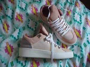 Filling Pieces Low Top Sneaker Nubuk Nude/Grey Gr.38