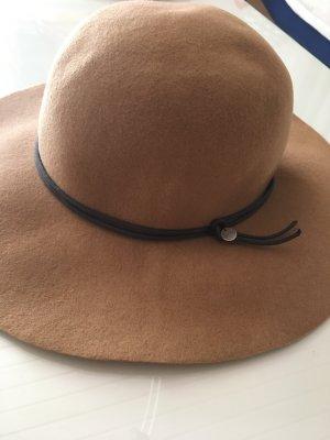 Esprit Chapeau en feutre brun-cognac