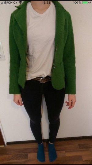 Vintage Blazer stile Boyfriend verde bosco-verde