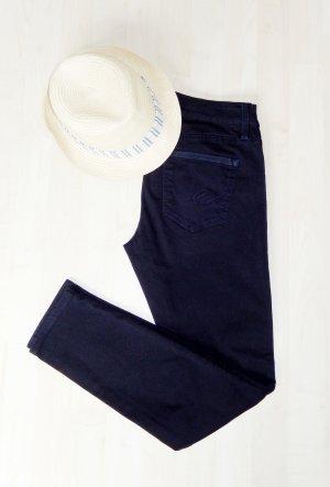 edc by Esprit Five-Pocket Trousers dark blue cotton