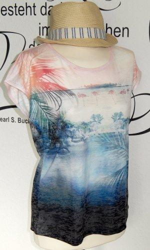 FINAL SALE bis 30.09.!! Süßes Flammgarn-Shirt mit trendigem Farbverlauf - NEU!!