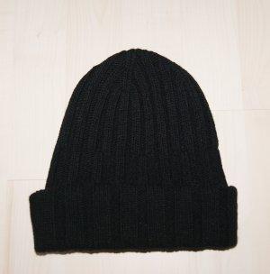 United Colors of Benetton Chapeau en tricot noir laine