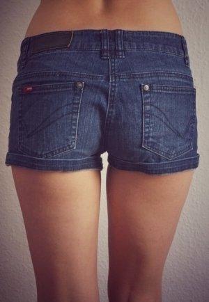 FINAL SALE! ONLY Jeans Shorts knapp sexy blau kurze Hose 36/38