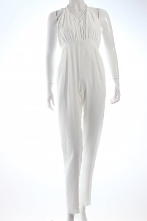 Finders Keepers Jumpsuit weiß Eleganz-Look