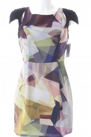 Finders Keepers Kurzarmkleid abstraktes Muster Elegant
