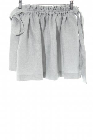 Finders Keepers Miniskirt light grey party style