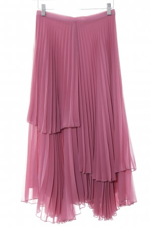 Finery Pleated Skirt pink-violet hippie style