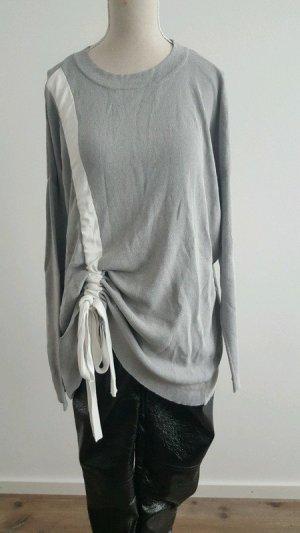 Asos Maglione lavorato a maglia argento-bianco