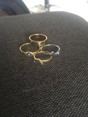 Anello oro-argento