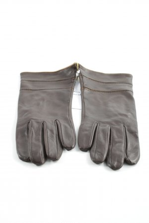 Gloves brown classic style