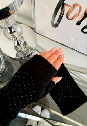 Fingerlose Damen Handschuhe mit BLING BLING , Neu