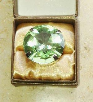 Swarovski Ring pale green