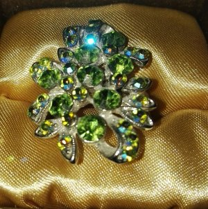 Swarovski Anello verde pallido-verde chiaro