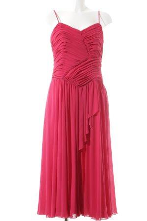 Fink Modell Abendkleid magenta Elegant