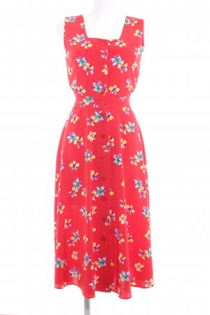 Fink Modell Midi Dress flower pattern casual look
