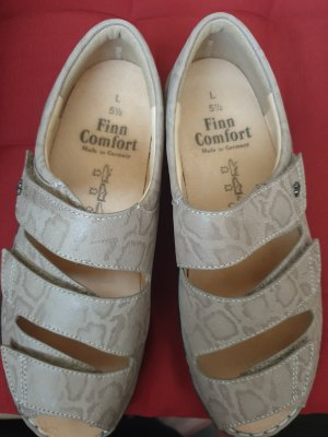 Finn Comfort Sandalias cómodas taupe