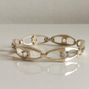 Finnland Modernist Designer Bergkristall Armband 835 Silber Vintage 70er 60er scandinavia