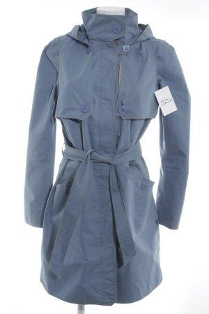 Finside Manteau de pluie bleuet style décontracté